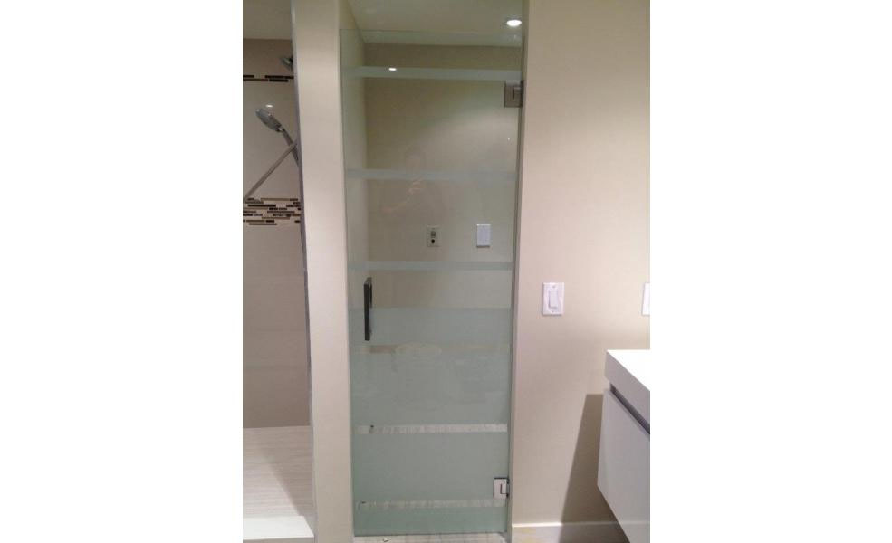 Pivot Glass Doors 6000