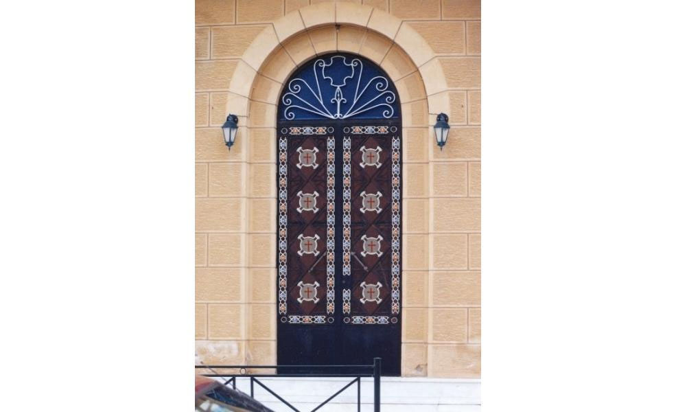 Iron Doors For Church 0926