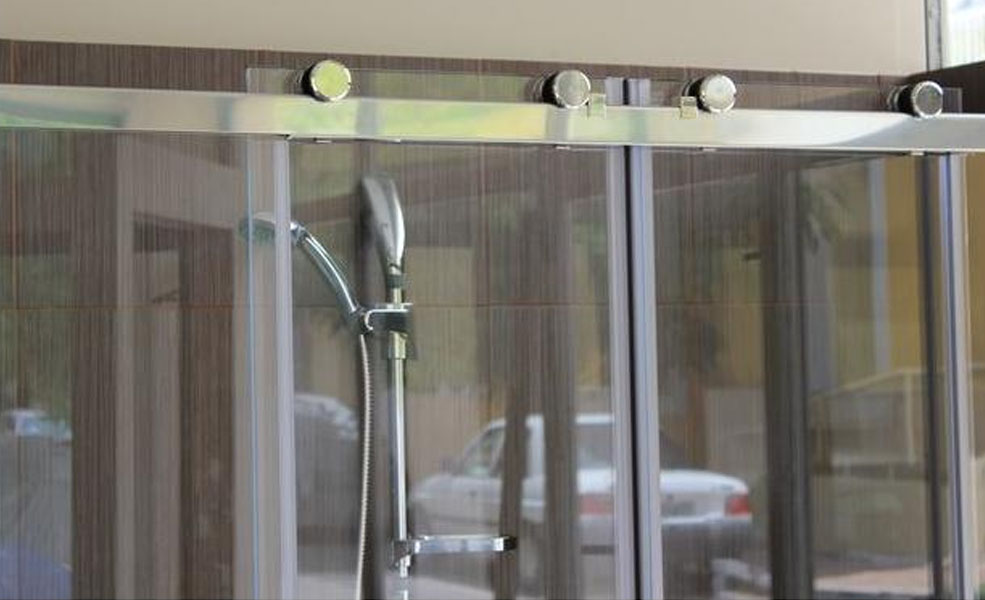 Glass Shower Cabins With Glass Roller 4004